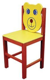 ayıcıklı sandalye