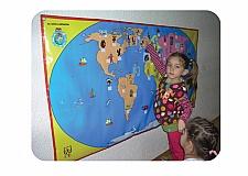 Dünya Haritası 90x175