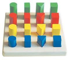 geometrik şekil dizme