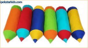 renkli kalem yastıklar(adet)