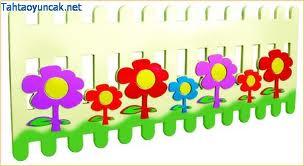 Çiçekli Çit (1 metre  fiyatıdır)
