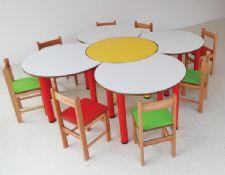 papatya masa Grubu-5 prç