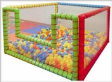 Mini SoftPlay Top havuzu 150x150 h:100