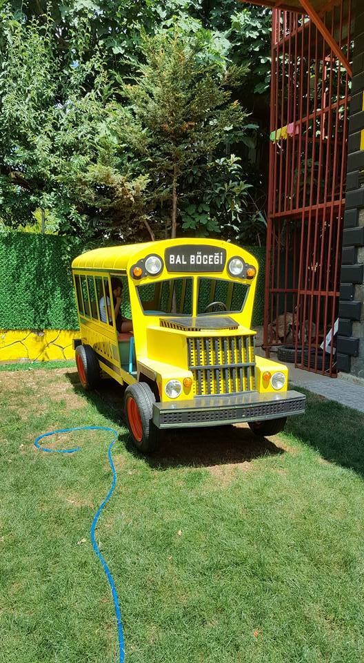 School Bus (okul otobüsü)Oyun parkı
